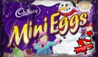 Cadbury Mini Eggs - Christmas style.